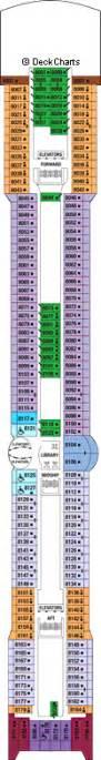 Celebrity Constellation Floor Plan by Celebrity Constellation Deck 8 Cruise Critic