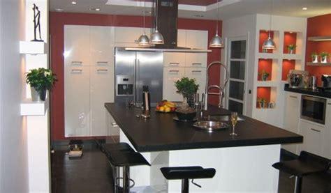 Marvelous Cuisine Plan Travail Noir  #14: Cuisine-blanche-paris-71-495x290.jpg