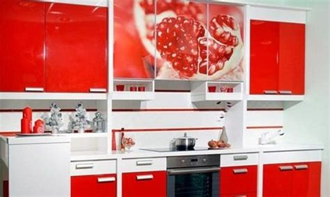 kitchen cabinets red and white red and white kitchen cabinets interior design