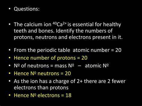 number of protons in calcium calcium periodic table protons neutrons and electrons