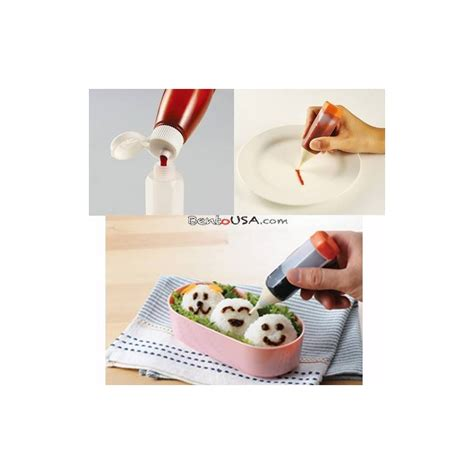bento essential deluxe sauce drawing pen 3 sizes for bento accesso