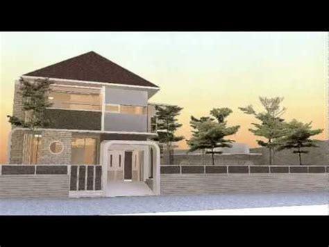 desain rumah villa  kolam renang youtube