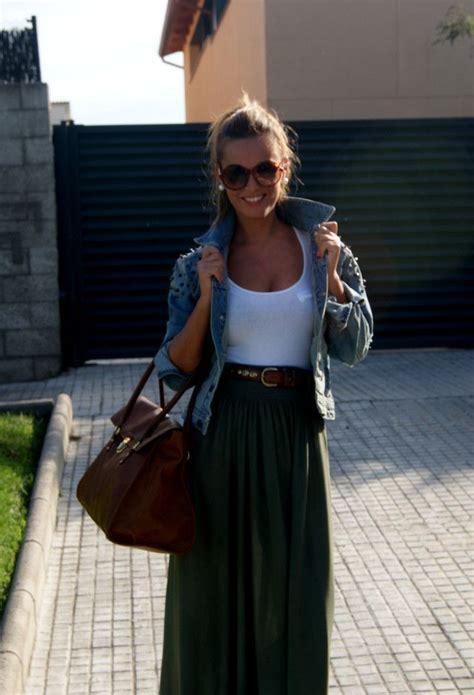 Maxi Trendy Menyusui Bhm 40 40 trendy skirt ideas brown purses brown belt and black maxi