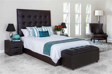 Bedroom Pedestal Images Roma Headboard Rochester Furniture