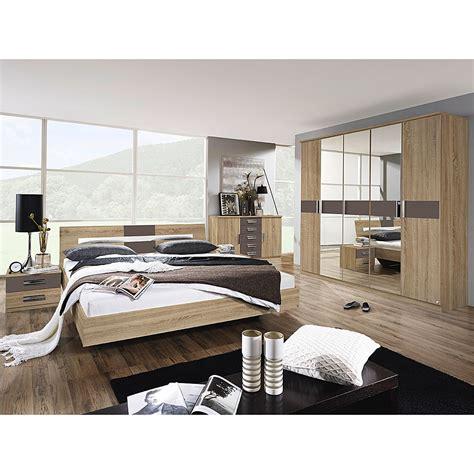 schlafzimmerschrank 160 cm breit schlafzimmerset sonoma 4 teilig eiche sonoma lavagrau