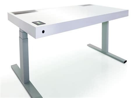 This Smart Desk Knows When You Want To Sit Or Stand Wired Wired Standing Desk