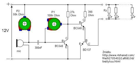 dioda w rytm muzyki migająca dioda w rytm muzyki elektroda pl
