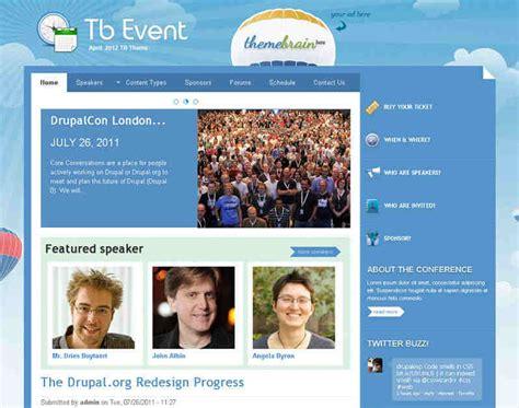 Theme Drupal Event | 12 best event drupal themes templates free website