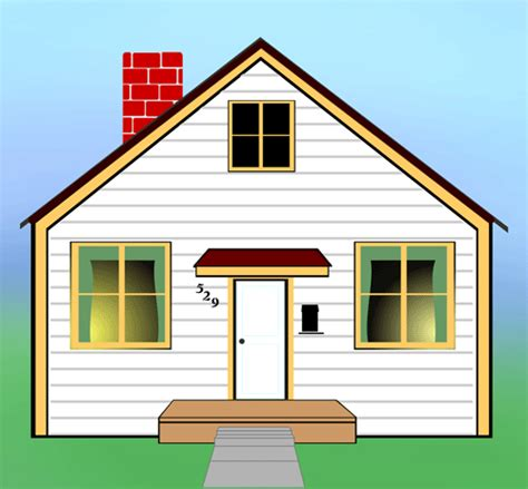 pix for gt animated houses clip cliparts co
