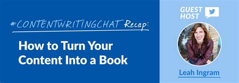turn pictures into a book contentwritingchat recap how to turn your content into a