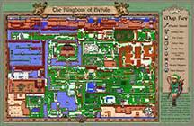 legend of zelda map for sale zelda the legend of link map 8 99 flashback