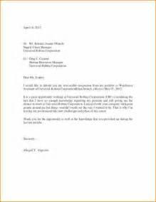 Basic Resignation Letter Format by 10 Sle Resignation Letter Basic Appication Letter