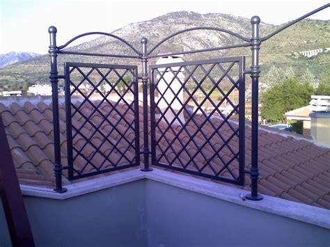 grigliati in ferro per terrazzi grigliati per terrazzi grigliati e frangivento