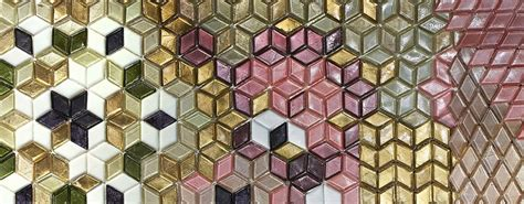 mosaic pattern of succession sicis comes on stage with its new collections at cersaie