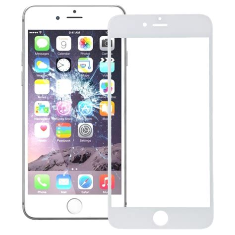 replacement for iphone 7 plus front screen outer glass lens white alexnld