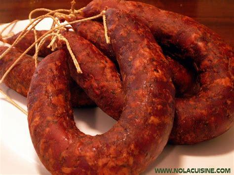 andouille sausage recipe nola cuisine pork sausage pinterest