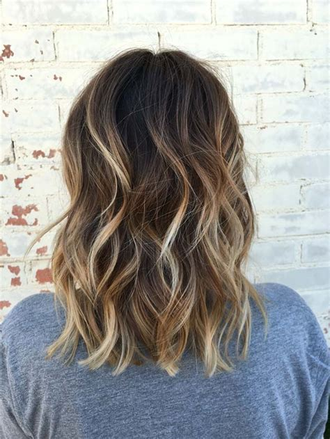 how to balayage med layered dark brown 42 balayage ideas for short hair the goddess