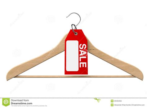 Sale Hanger coat hanger with sale tag royalty free stock photo image 29432455