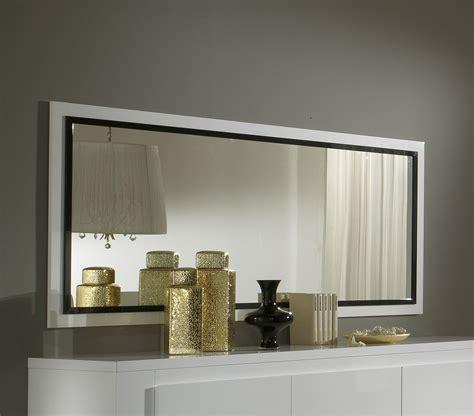 Armoire Noir Laqué by Miroir Rectangulaire Design Laqua Blanc 2017 Et Miroir