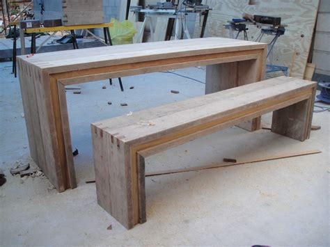 board table furniture garden table and bench3 1 jpg 4000 215 3000 pallet