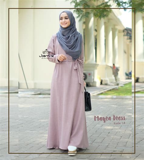 Baju Dress Wanita Mayra Dress gamis mayra dress 14 baju gamis wanita busana