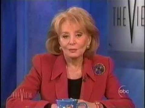 Donald Sends Barbara Rosies by Barbara Walters On Donald Rosie O Donnell