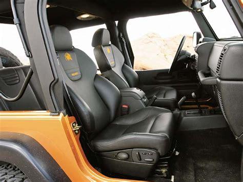 custom jeep seats custom jeep seats 2004 jeep wrangler tj interior view