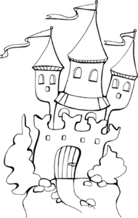 magic castle coloring page fantasy colouring pages preschool coloring book pages for