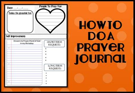a s best friend how to do a prayer journal
