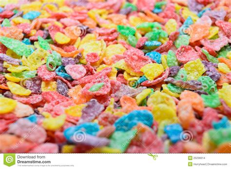 colorful cereal colorful cereal up stock photo image of