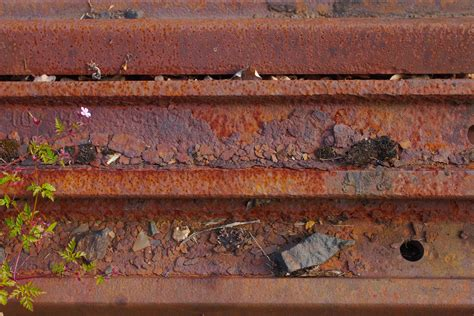rusty train rusty rails texture camel trail cornwall photography