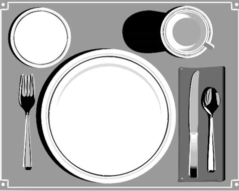 20 Place Setting Templates Free Word Design Ideas Place Setting Template