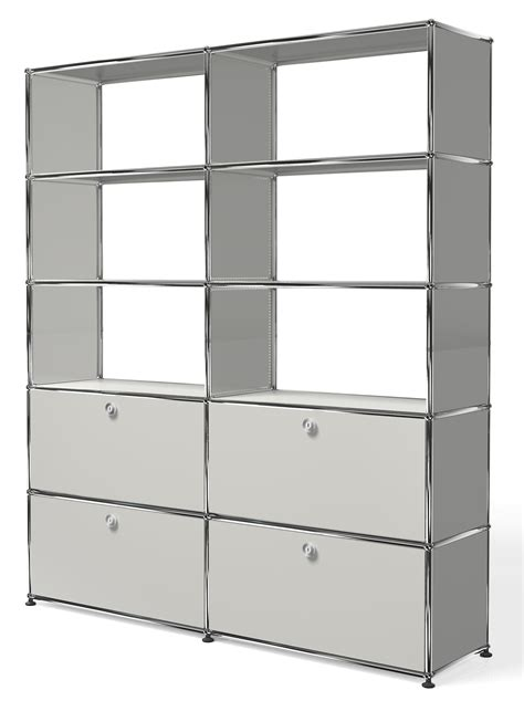 Regalsysteme Aus Metall by Usm Haller Bookshelves Regalsystem By Usm Modular Furniture
