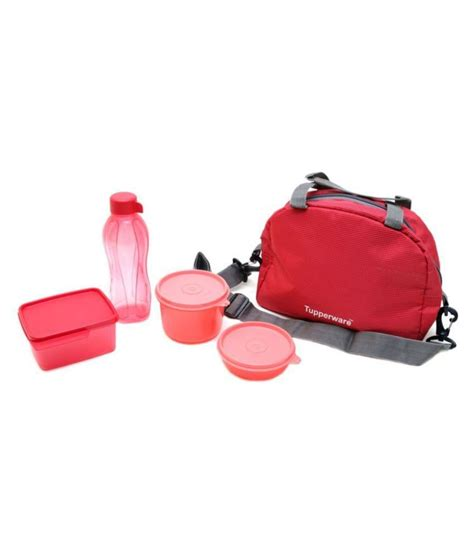 Tupperware Lunch Set tupperware trendy sling a bling lunch box set of 4