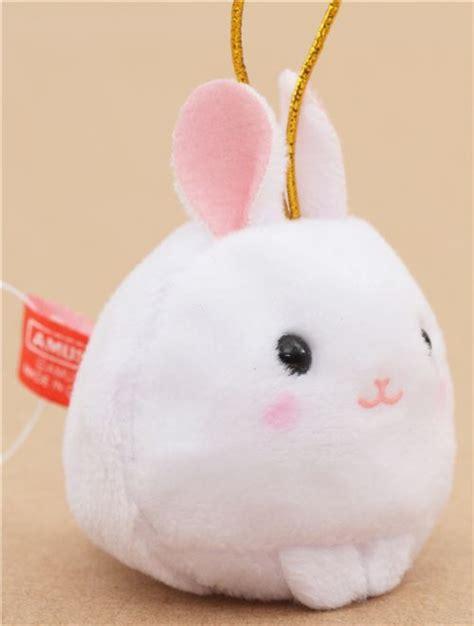 Kopenhagen Mini Bunny Bagcharm Import 1 small white rabbit with gold color zodiac puchimaru plush charm cellphone