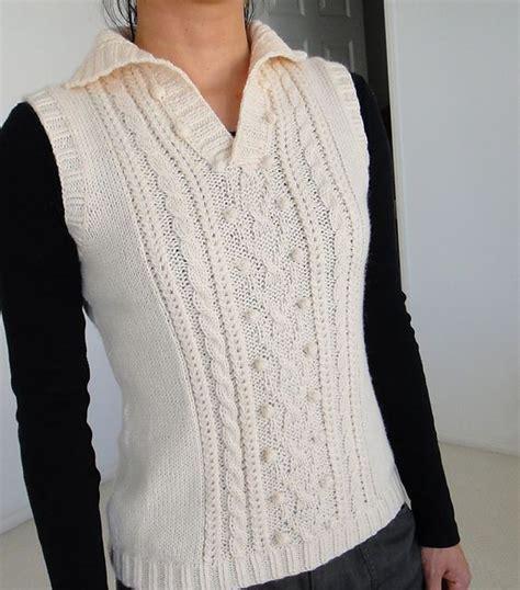 aran vest knitting pattern http www ravelry patterns library aran vest 3 free