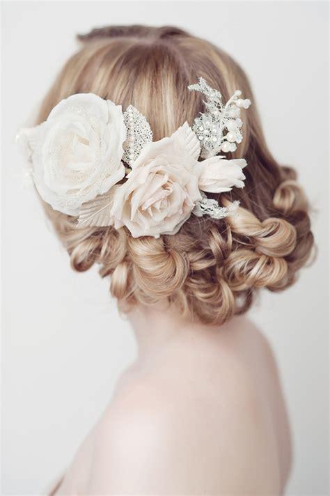 Flower Wedding Hair Pieces