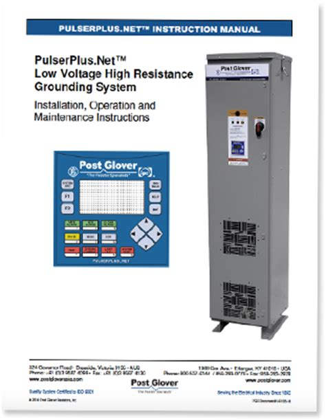 post grounding resistors low voltage power conditioning resource engineered products