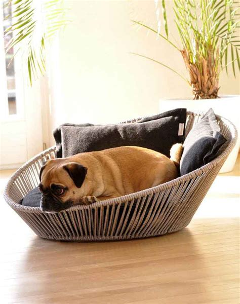 dog pillows and beds modern dog bed siro twist a comfortable orthopaedic dog bed