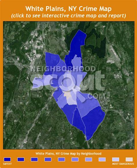 white plains new york map white plains ny crime rates and statistics