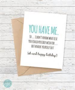 birthday card funny boyfriend card funny by flairandpaper