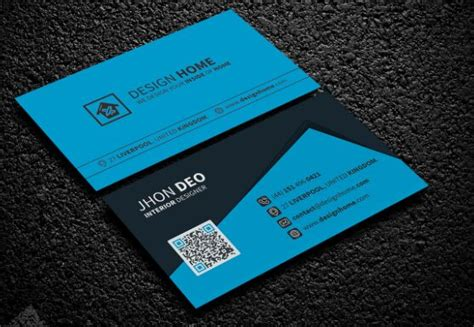 business cards templates front and back psd free corporate business card psd template front