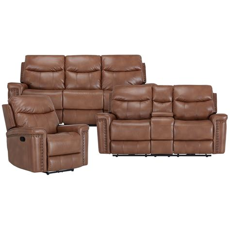 reclining loveseat with console microfiber city furniture wallace medium brown microfiber reclining
