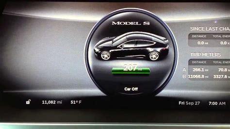 Tesla Model S Battery Capacity Tesla Motors Model S Battery Capacity After 11 000