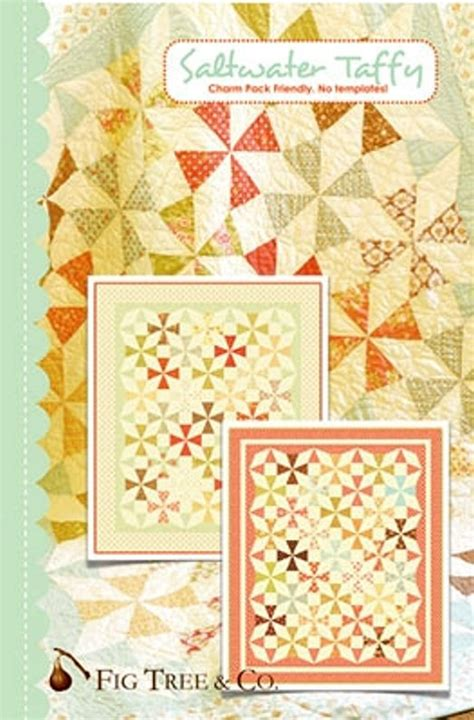 Fig Tree Quilts by Saltwater Taffy Quilt Pattern Fig Tree Quilts Joanna Figueroa