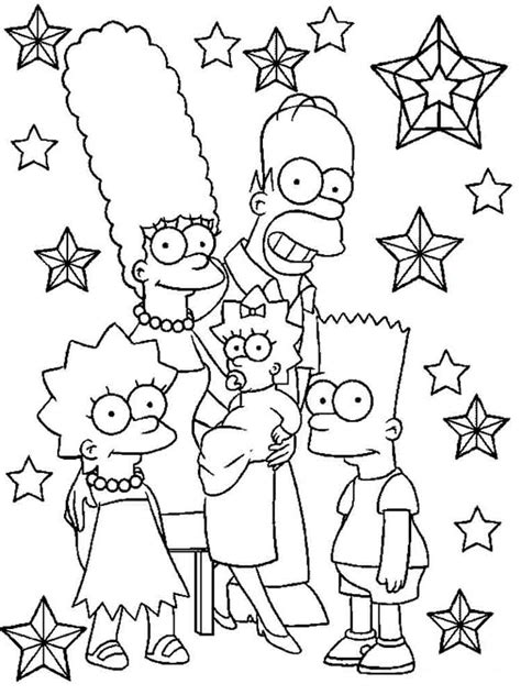 The Coloring Pages the simpsons coloring pages and print the