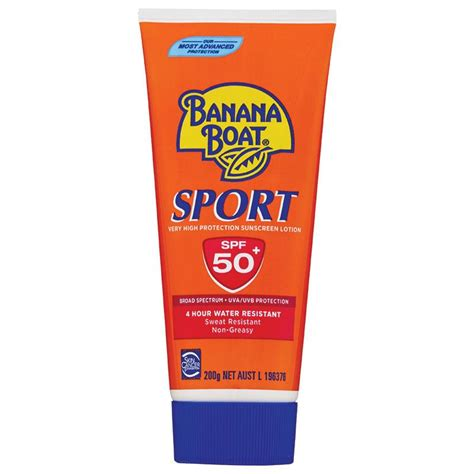 Banana Boat Sport Spf 50 200g by Buy Banana Boat Spf 50 Sport 200g At Chemist