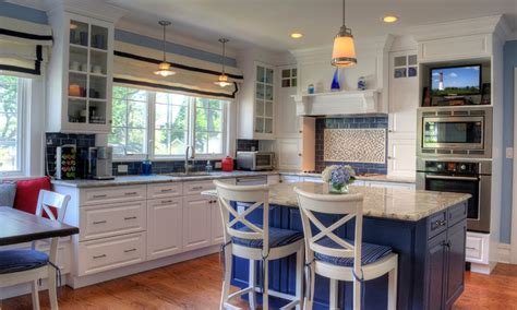 coastal kitchen design a coastal kitchen in montclair traditional kitchen