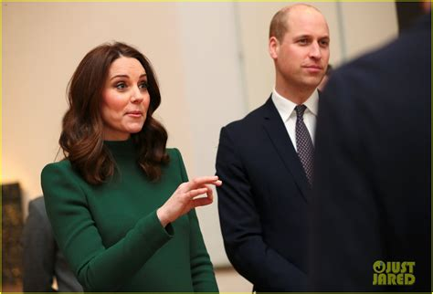 kate and william meet swedish royal couple s adorable pregnant kate middleton prince william hit the ice