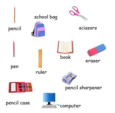 materi biography dalam bahasa inggris materi bahasa inggris sd kelas 4 tentang school objects